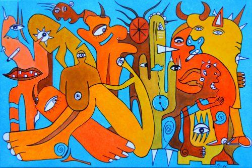 Conversas entre Tarsila e Picasso