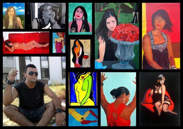 Pinturas de mulheres entre 2008 e 2012