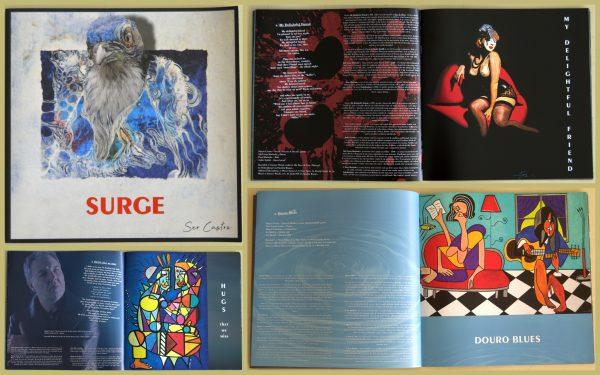 """Livro do álbum """"Surge"""" do Sérgio Castro, Trabalhadores do comércio"""